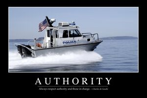Authority: Inspirational Quote and Motivational Poster