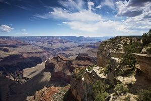Beautiful vista of Grand Canyon from Hopi Point, Arizona