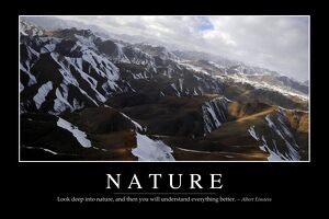 Nature: Inspirational Quote and Motivational Poster