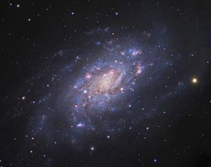 NGC 2403, a spiral galaxy in Camelopardalis